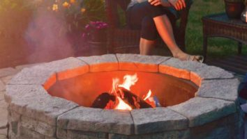 Exterior Fire Pit: Barbecuing For The Large Video Game Residence Renovation